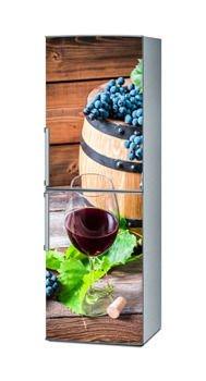 Mata magnetyczna na lodówkę - Wino i winogrona 4528